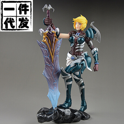 NEW Hot! 20cm The Exile  Riven action figure toys collection doll Christmas gift with box new hot 23cm the frost archer ashe vayne action figure toys collection doll christmas gift with box