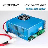 Cloudray 100W Co2 Laser Power Supply 47 440HZ AC220V AC110V For CO2 Laser Engraving Cutting Machine