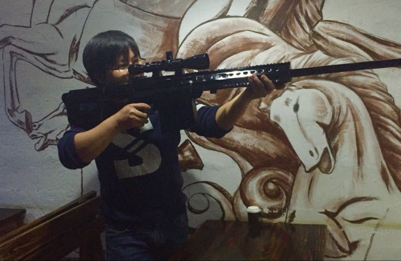 High Quality model gun