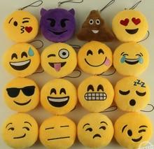 New Arrive Cute Emoji Smiley Emoticon Amusing Soft Toy Gift Pendant Bag Accessory