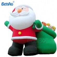 X029 3 м Высокое надувные Рождество Санта Клаус украшения надувные Санта Клаус украшение для Новогодние товары