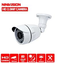 חדש! מלא HD 1920*1080 AHDH 1080 p אבטחת CCTV 3000TVL AHDH מצלמה HD 2MP ראיית לילה חיצוני עמיד למים מצלמה IR לחתוך מסנן