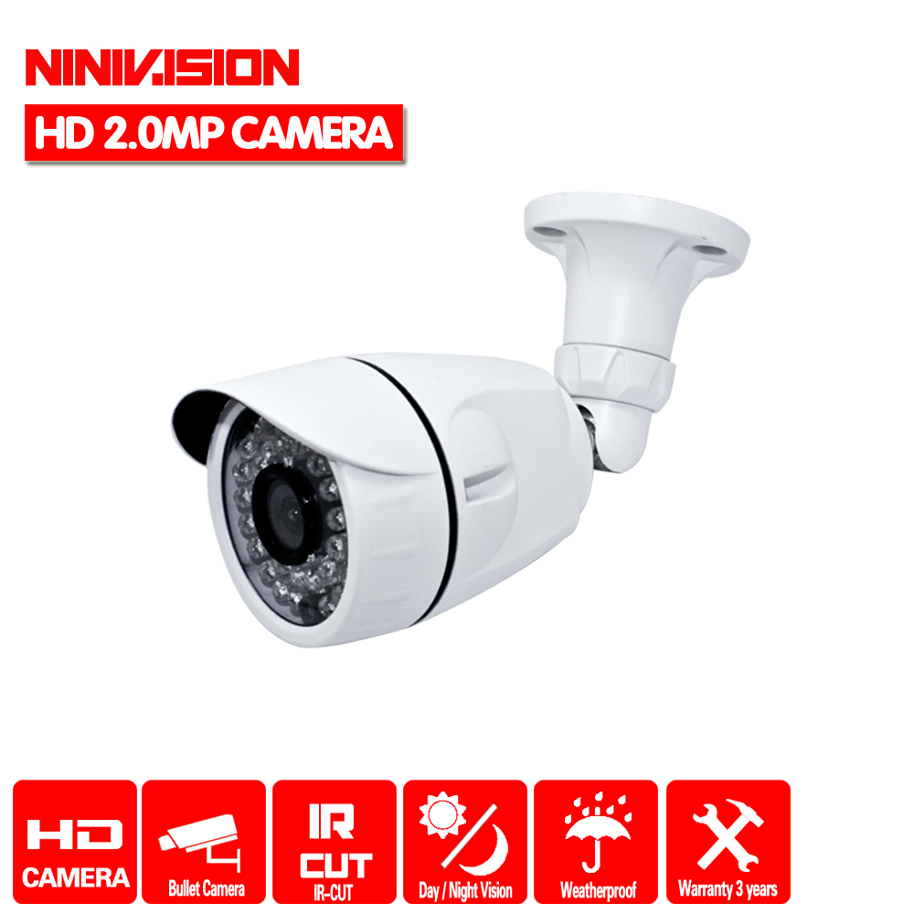 New! Full HD 1920*1080 AHDH 1080P CCTV Security 3000TVL AHDH Camera HD 2MP Night Vision Outdoor Waterproof Camera IR Cut Filter