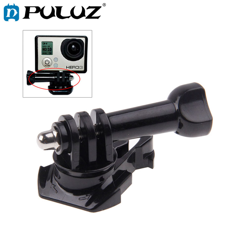 PULUZ 360 Degree Rotate Adjustable Buckle Basic Strap Mount Screw Bolt for GoPro NEW HERO HERO6 5 5 Session 4 3 3 2 1 in Sports Camcorder Cases from Consumer Electronics