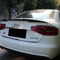 For Audi A4 A4L Spoiler Belgian style High Quality Carbon Fiber Car Rear Wing Spoiler For Audi B8 B8.5 Spoiler 2011 2015