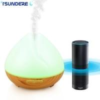 TSUNDERE L 400ML Air Humidifier WiFi Smart Aroma Diffuser Essential Oil Diffuser Voice Wizard Voice Control