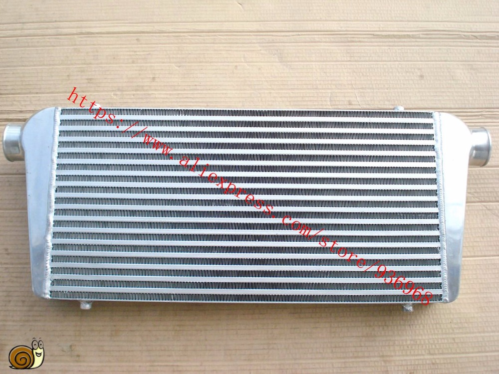 Core size 600x300x76mm In/outlet 2.5inch Intercooler Universal type Front Mount bar&plate Intercooler  from AAA Turbocharger epman universal aluminum water to air liquid racing intercooler core 250 x 220 x 115mm inlet outlet 3 ep sl5046c
