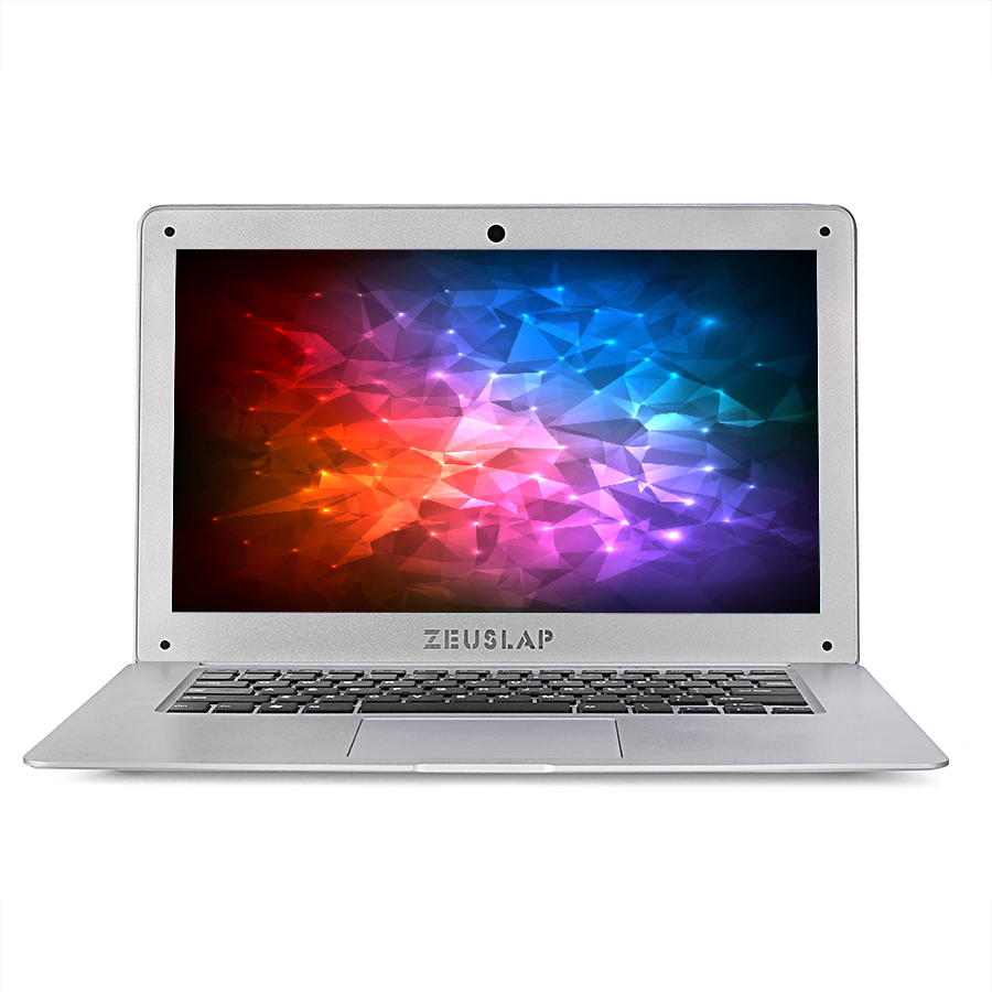 ZEUSLAP 14inch 4gb ram 128gb ssd Intel Pentium win10 1920X1080P FHD cheap Notebook Computer pc Netbook