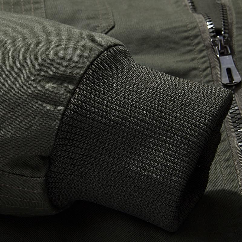 M-6XL LetsKeep Nieuwe lente leger heren bomberjack badges militaire - Herenkleding - Foto 3