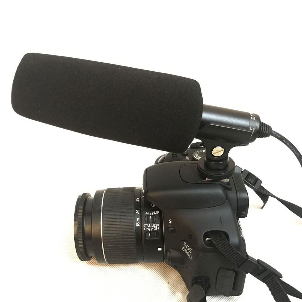 For SONY ECM-XM1 Sharp Camera Directivity Gun Microphone DSLR Camera Condenser Video Interview Recording Microphone Accessories