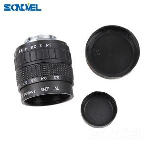 Image 5 - 50mm F1.4 CCTV TV 무비 렌즈 + 니콘 1 AW1 S2 J4 J3 J2 J1 V3 V2 V1 미러리스 카메라 C NI 용 C 마운트 + 매크로 링