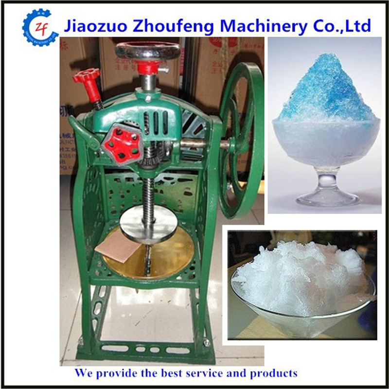 Ice crusher machine manual home use sweet summer ice food making machine shaved ice machine ZF hand driven ice crusher commercial and home use crushed ice machine zf