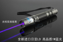 Best Buy High Quality Laser Full Packaging Real 4000mW 4w Blue Laser Pointer 450nm Ignite Powerful Laser Powerful Laser Self-Defense 5000