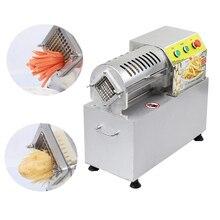 Коммерческая машина для резки картофеля электрическая Картофельная резальная машина резка картофеля фри Таро редис сладкий картофель машина для резки