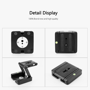 Image 5 - Vamson Accessories for Gopro Hero7 6 5 4 3 Fold Z Type Stand Holder Adapter Tripod Quick Release Plate for DSLR Camera VP419