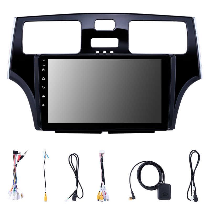 Adapté pour Lexus ES TOYOTA Windom voiture GPS Bluetooth Radio Android 8.1 4-core CPU 2.5D trempé anti-déflagrant HD unité de tête d'écran