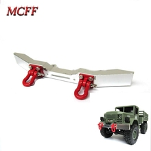 Металлический передний бампер с крючком для 1:16 RC Crawler Car WPL B14/B16/B24/C14/C24, запчасти для грузовиков, аксессуары