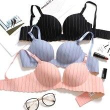 Sexy Gather breast bra Adjustable straps Women Seamless Underwear Push Up Bra Support chest dress wedding party