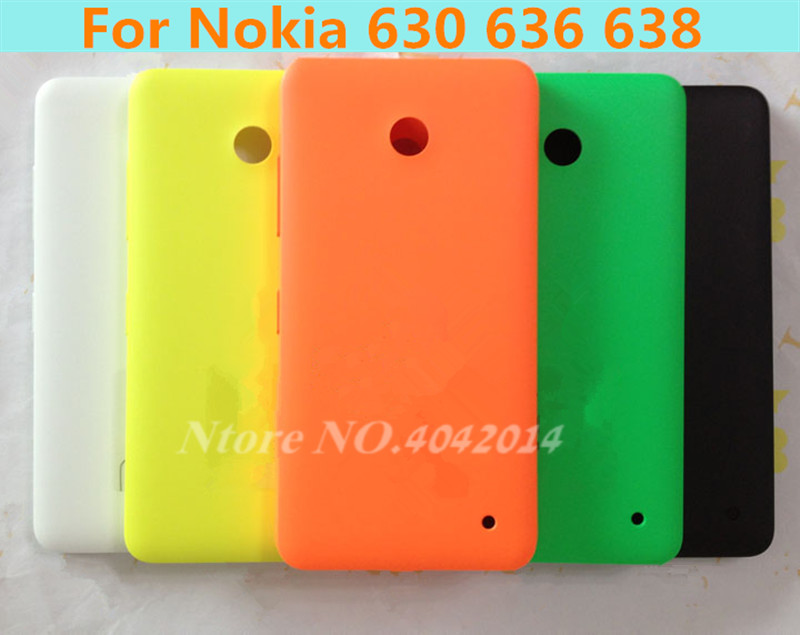 MIXUEWEIQI New Rear cover for Nokia 630 635 back battery door housing for Microsoft lumia nokia 635 630 back cover back case