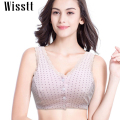 Cotton Wire Free Maternity Nursing Bra Soft wire Free Breastfeeding Padded Push Up Front 4 Buttons Vest Comfort Pregnant Tank
