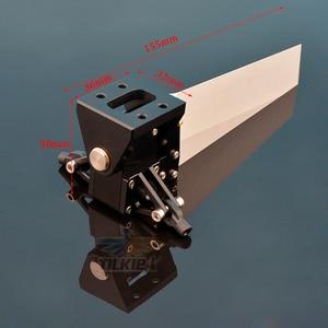 Image 2 - Di Alluminio di CNC 50x155 millimetri Centro Del Timone per la Barca del Rc Lunghezza di Oltre 100 centimetri di Buona Qualità
