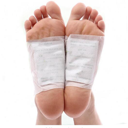 200PCS/lot Kinoki Detox Foot Patch Bamboo Pads Patches With Adhersive Foot Care Tool Improve Sleep Slimming Foot Sticker