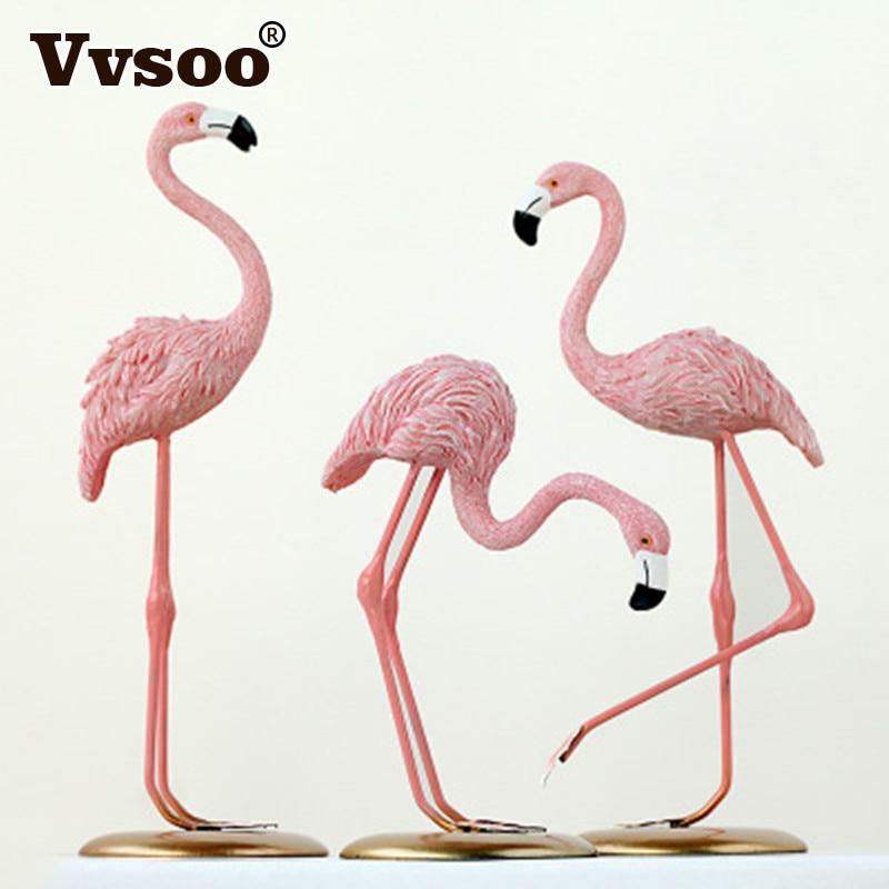 Ins Flamingo Décoration Pour Salon Romantique De Noce Ornement Accessoires D'anniversaire Party Supplies Enfants Valentines Cadeau