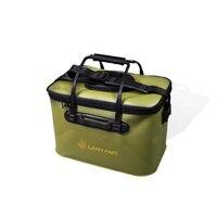 High Quality 30/35/40/45/50cm Outdoor EVA Bucket Folding Bucket Portable Camping Hiking Bucket With Handle Fishing Bags