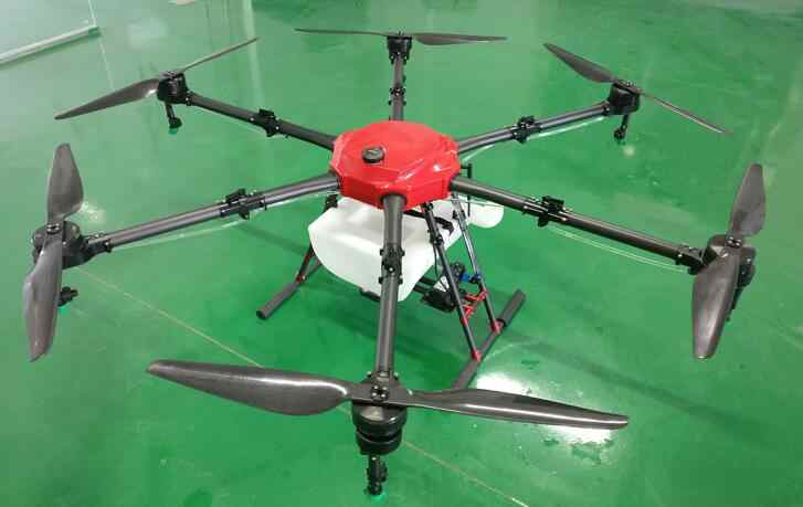 YRX616 16L 16KG RTF umbrella folding 1600-1700mm wheelbase Agricultural  Drone 6-axis UAV intelligent autonomous operation