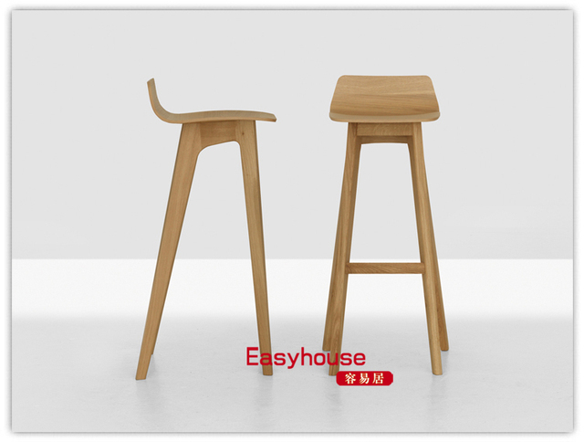 Formstelle Morph Barstool Nordic wood bar chairs IKEA lounge chair designer furniture  sc 1 st  AliExpress.com & Online Shop Formstelle Morph Barstool Nordic wood bar chairs IKEA ... islam-shia.org