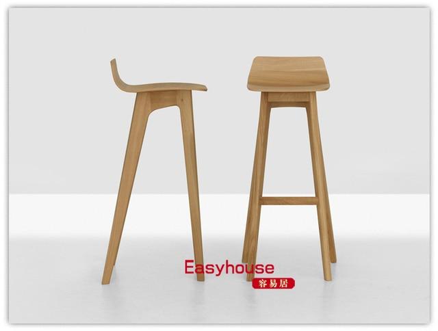 Formstelle morph taburete de madera n rdica sillas de bar - Sillas madera ikea ...