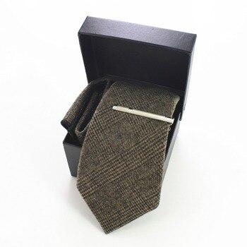 Gammy Wool Hand Made Tie Set – Brown