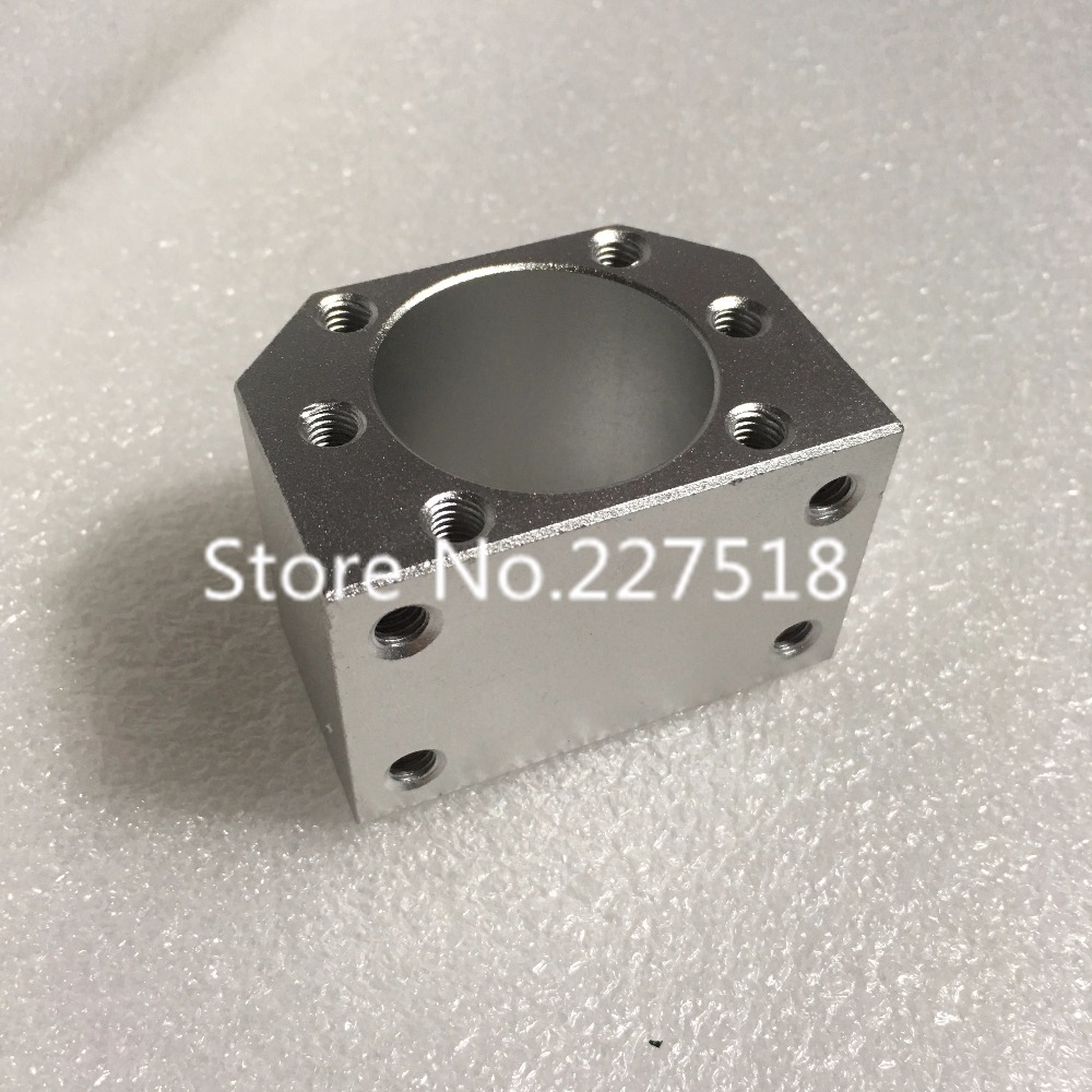 1pc RM1605 ballscrew nut housing bracket holder inner hole 28mm DSG16H for SFU1604 SFU1605 SFU1610 Aluminium Alloy Material кабель n2xs fl 2y 1x50 rm 16