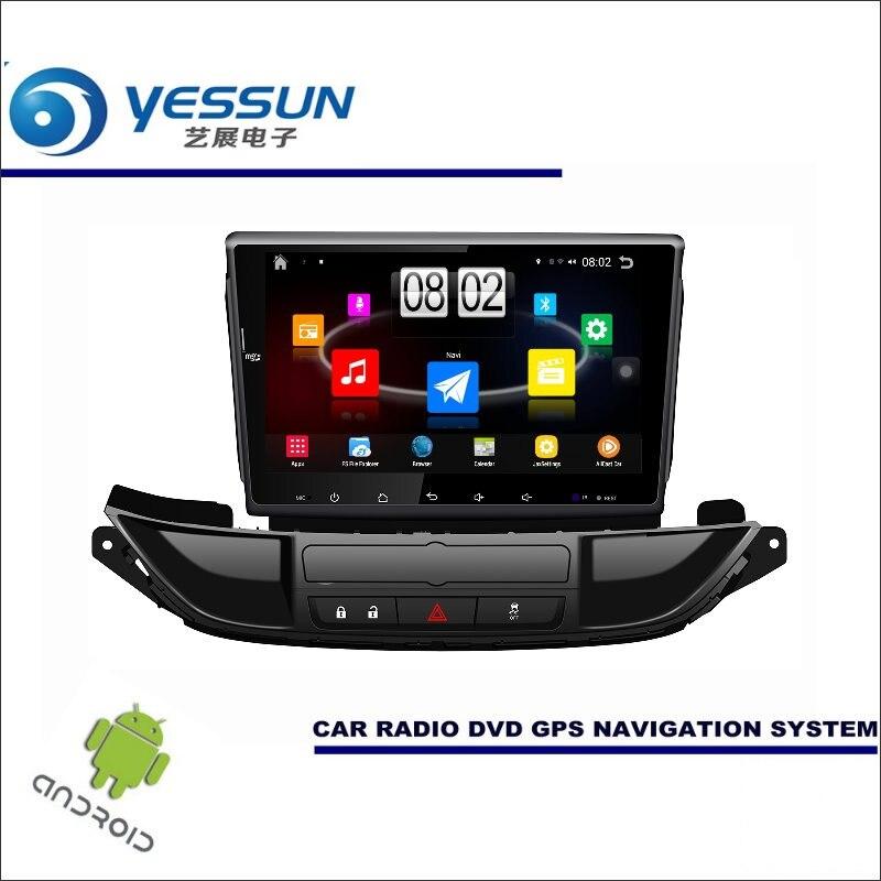 Yessun автомобиля Android мультимедийный плеер для Buick Excelle 2015 ~ 2017 Радио стерео GPS nav Navi Навигация (без cd DVD) 9 HD Экран