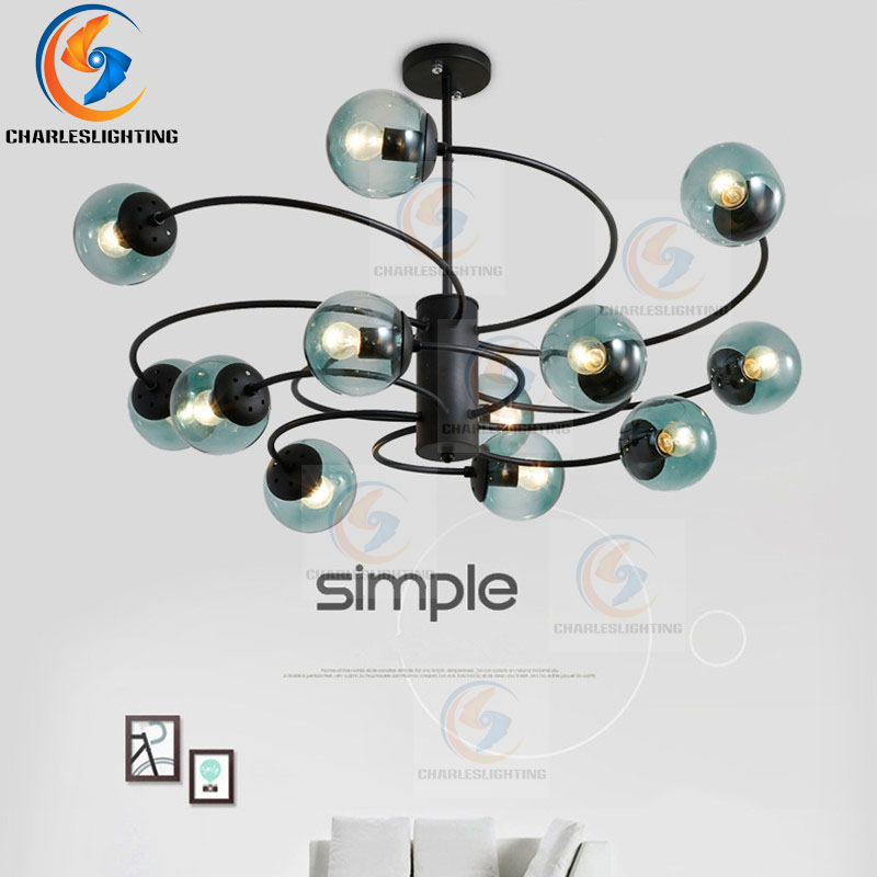 CHARLESLIGHTING Pendant light with E27 Holder New Classical Post modern Magic Bean Lights for Living Room bedroom windmil Light Pendant Lights     - title=