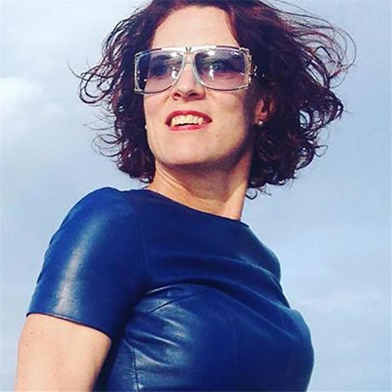 Luxus Hochwertige Mode QUADRATISCHE Sonnenbrille Frauen - Bekleidungszubehör