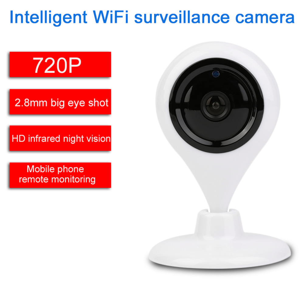 ФОТО Water Drops Type Network Remote Intelligent Infrared WiFi Monitoring Camera Night Vision 660S 720P 2.8mm 1 Million Pixels