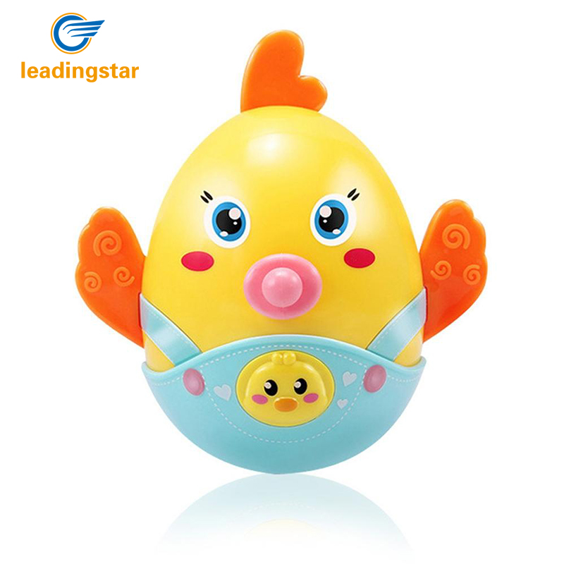 Rctown Chicks Baby Funny Rattles Cartoon Animal Teether Ball Educational Toy Newborn Gift Toy Baby & Toddler Toys Toys & Hobbies