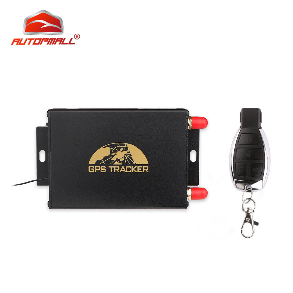 GPS Tracker Car Fuel Sensor Camera Tracking Device TK105B Remote Controller GSM GPS Locator Dual SIM Fuel Cut Off Free SoftwareGPS Tracker Car Fuel Sensor Camera Tracking Device TK105B Remote Controller GSM GPS Locator Dual SIM Fuel Cut Off Free Software