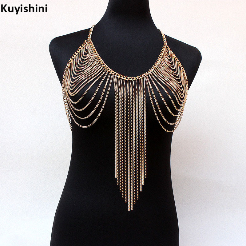 New Sexy Rhinestone Metal Tassel Tank Top Women Sequined Camisole Bralette Crop Top Short Party Club Wear Cropped Clothes Chain