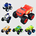 1PC With Retail Box Blaze Machines Russia Cartoon Blaze Miracle Cars Kid Toys Vehicle Car Transformation Toys Baby Toys
