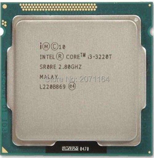 Бесплатная доставка для Intel I3-3220T 2.8 Г официальная версия 35 Вт маломощных настольных компьютерных ПРОЦЕССОРЫ