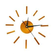 3D Silent Home Decor Quartz Diy Wall Clock Clocks Horloge Watch Living Room Acrylic Mirror Sticker 16 inch Stylish Wall Clock цена в Москве и Питере