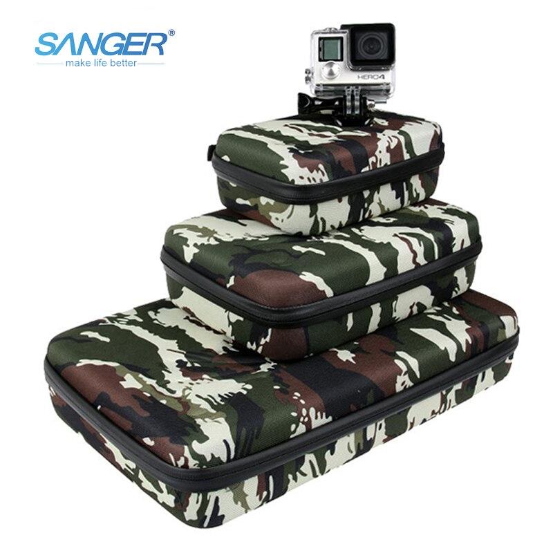 SANGER para gopro acessórios cor camuflagem saco da câmera para - Câmera e foto