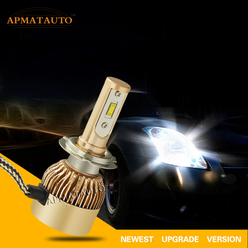 Pair LED Headlight Conversion Kit Headlamp 6000K  White Lamp HID Xenon Kit 11000LM 12V Bulb Lamp H7 H8 H9 H11 9005 HB3 9006 HB4 nap national academy press ecological aspects of development in the humid tropics