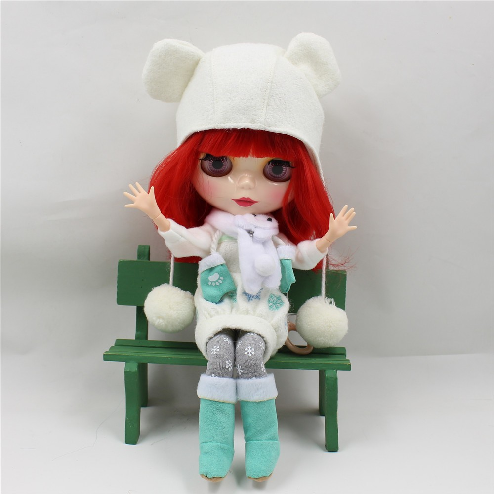Neo Blythe Doll Winter Outfit Set 2