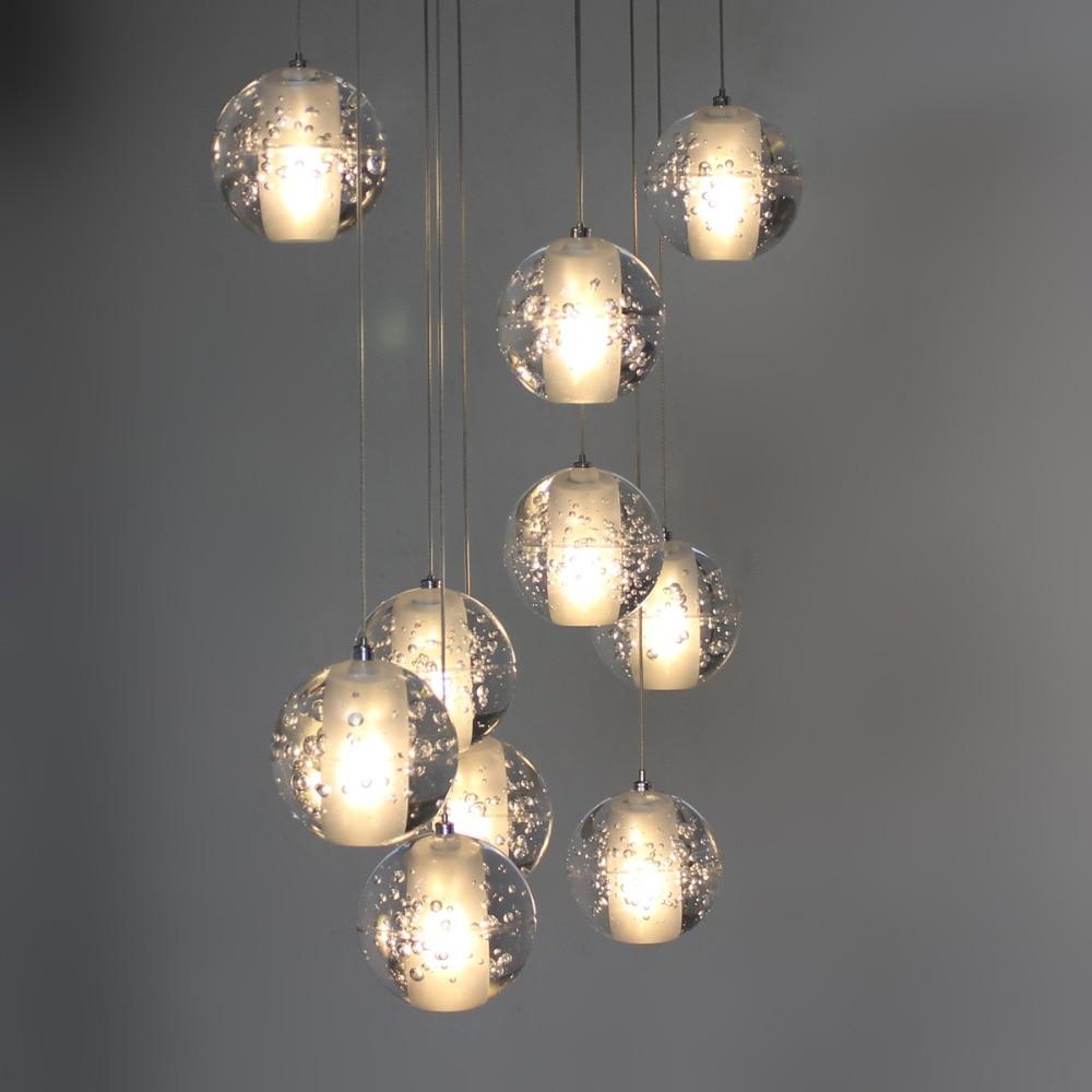 Free Shipping Modern Pendant Light DC12V G4 Led Bulbs Included