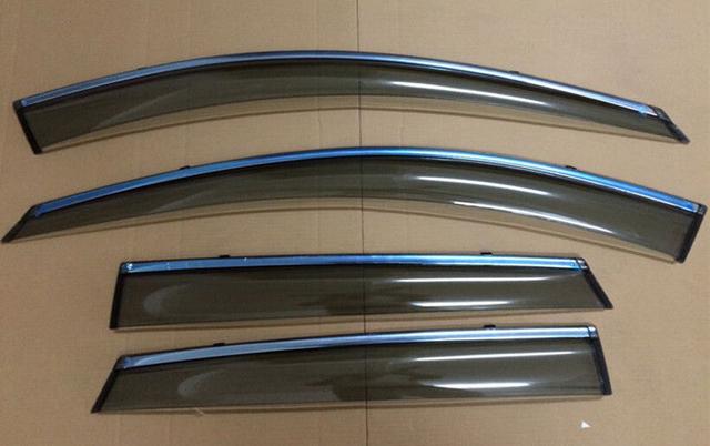 4 unids puerta Window parasol deflectores protección contra la lluvia para Mazda CX-5 2013 2014 CX5 2015 2016