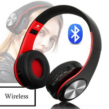 цена на Bluetooth 5.0 Sport Headphones Wireless Stereo Earphones Foldable Headsets Adjustable Earbuds music headset FM Microphone