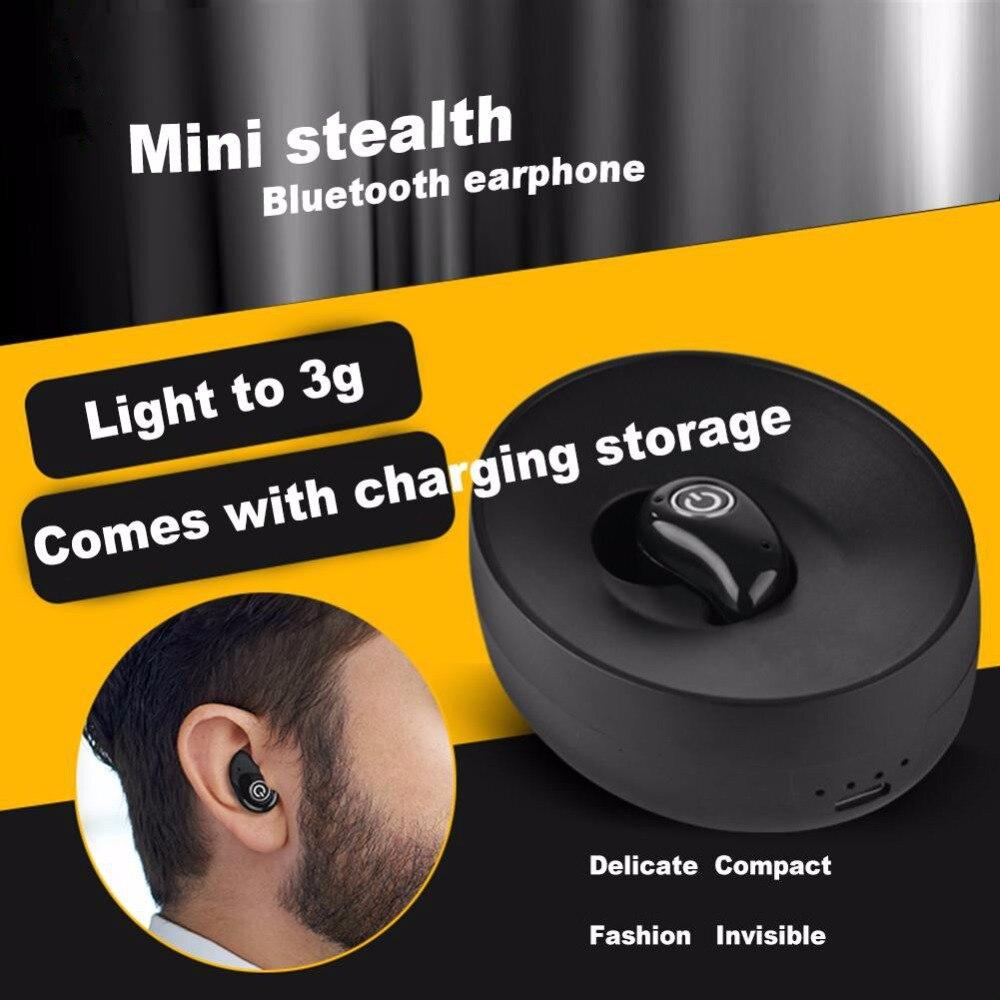 2017 S600 Ultra Mini Wireless Bluetooth 4.1+EDR Stereo In-Ear Headset Sports Business Universal Earphone For Phones Tablet wireless 3 0 edr bluetooth games headset stereo in ear earphone for ps3 universal